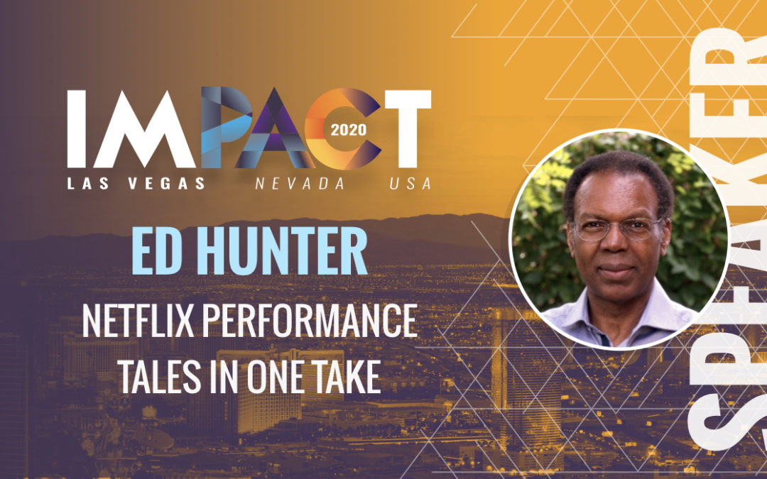 Netflix Performance Tales in One Take - Ed Hunter, Engineering Leader, Netflix