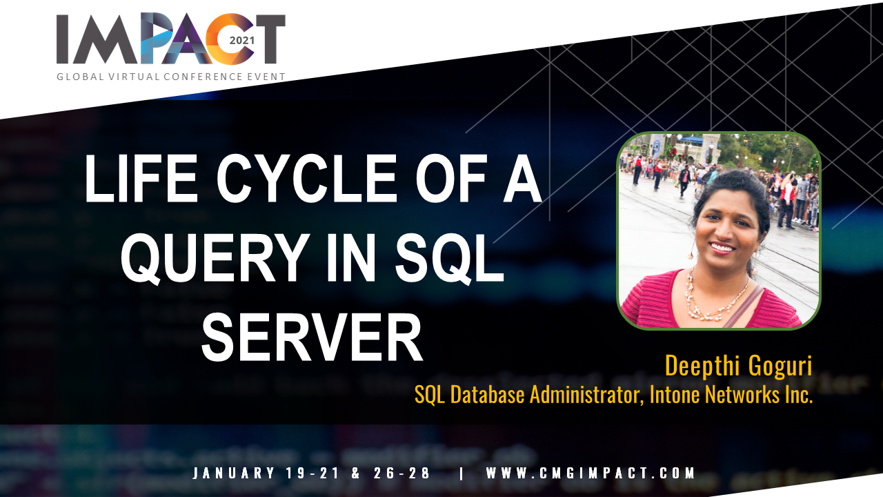Life Cycle of a Query in SQL Server